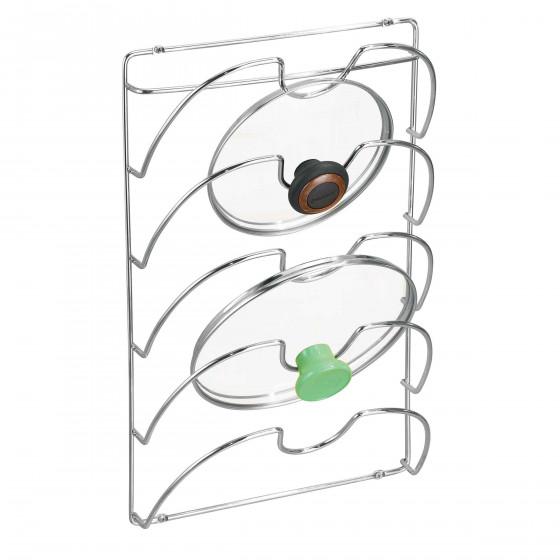 Support mural pour couvercles de casseroles