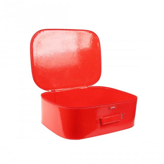 Valisette rigide rouge pour enfant (S)