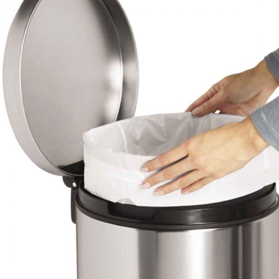 60 sacs poubelles pour poubelle 30 litres