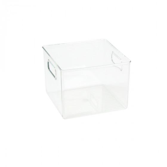 Organisateur M de réfrigérateur ou placard en plastique transparent