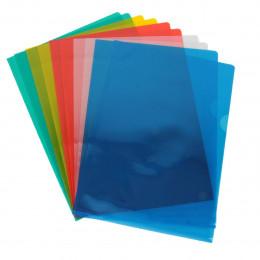 Pochettes colorées en PVC