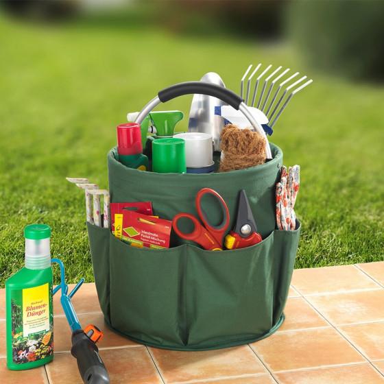 Panier de rangement pour jardinage