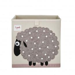 """Cube de rangement en tissu pour enfant """"mouton"""""""