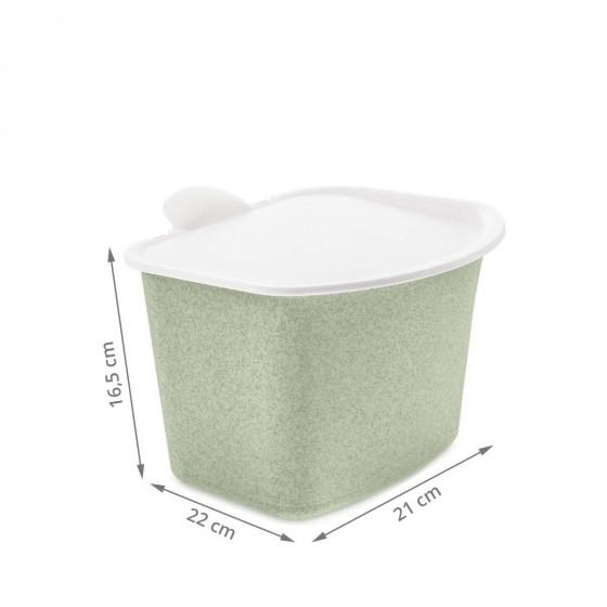 Poubelle à compost de cuisine en matière écologique