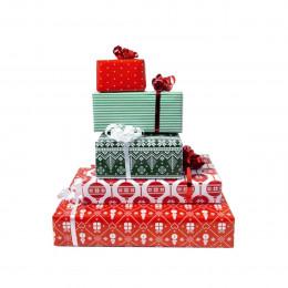 Rouleau d'emballage cadeau de Noël
