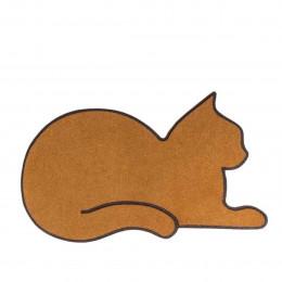 Paillasson en forme de chat