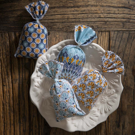 4 sachets de lavande de Provence