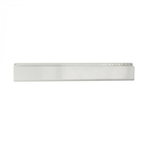 Vide-poche mural métallique blanc avec  6 aimants