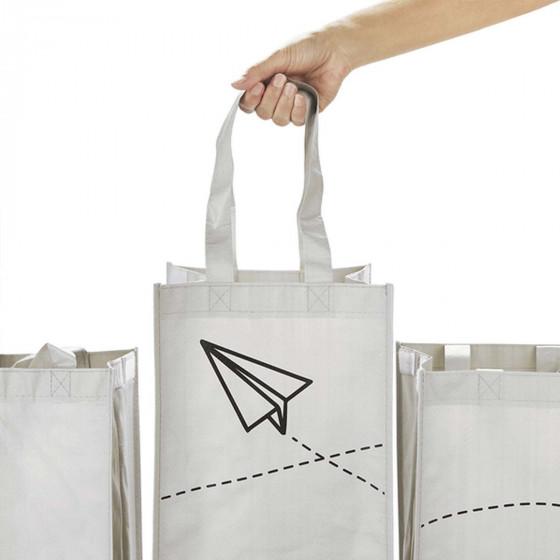 3 sacs pour tri sélectif