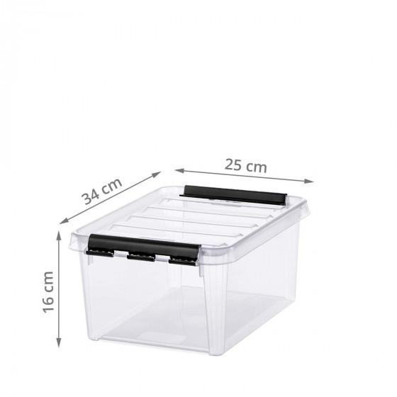 Boîte de rangement plastique 8 litres