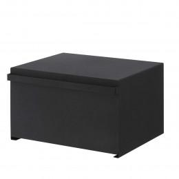 Boîte à pain placard cuisine noir