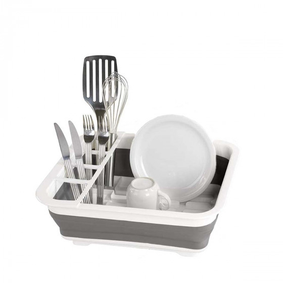 Egouttoir à vaisselle pliable