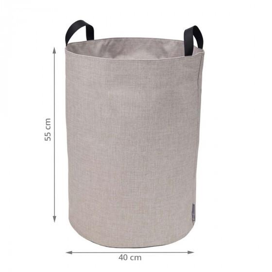 Grand sac à linge en tissu
