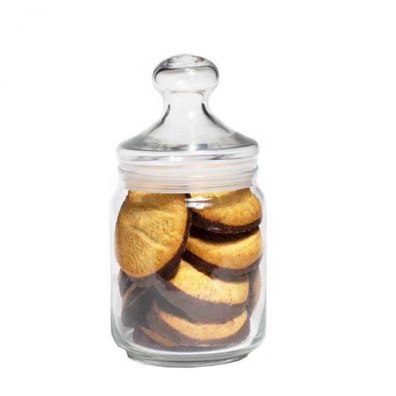 Bonbonnière en verre français