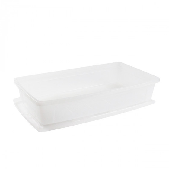 Boîte sous le lit en plastique transparent 30 Litres