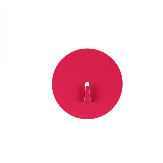 Grand crochet aimanté rose et rond