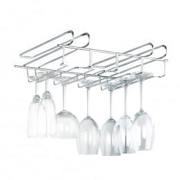 Rack à verres pour suspendre jusqu'à 12 verres à pied