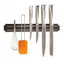 Barre aimantée porte couteaux 38 cm