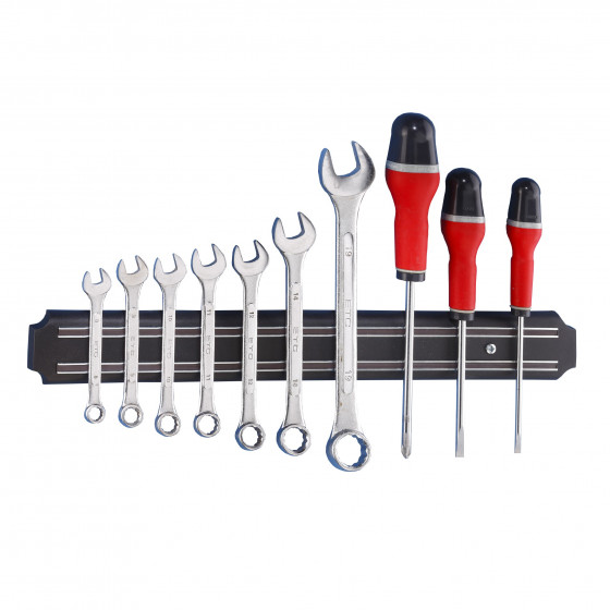 Barre aimantée porte outils 38 cm