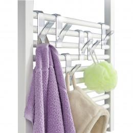 6 crochets à suspendre sur un radiateur sèche serviette