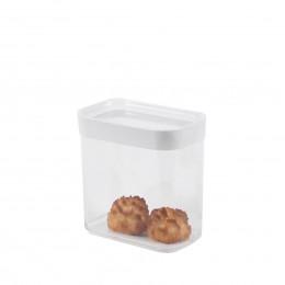 Boîte en plastique pour aliments secs. 1 litre.