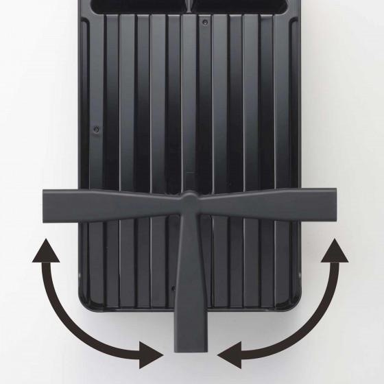 Egouttoir design en plastique noir