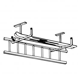 Crochet de rangement pour plafond en T