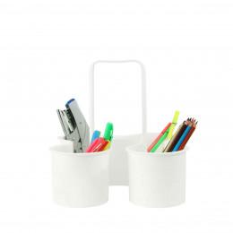 Panier en plastique à compartiments