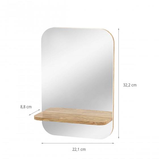 Miroir d'entrée