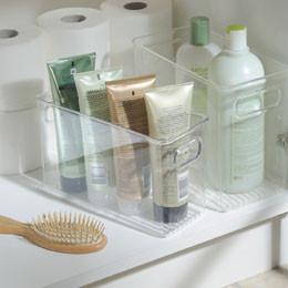 Rangement salle de bain - sous le lavabo