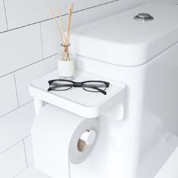 Rangement autour des WC