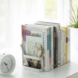 Rangement livres pour le bureau - serre-livres